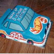 Custom Hot Wheels Birthday Cake Design